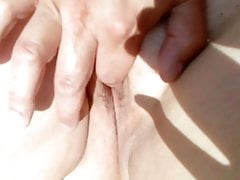 Finger my wife