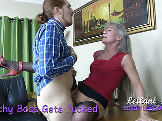 Milfs Amateur Oldyoung video: Bitchy Boss Gets Fucked