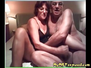 Amateur Hardcore Grannies video: My MILF Exposed granny couple sucking and fucking