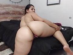Ogromny seksowny tyłek latynoski