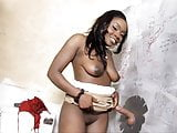 Busty Ebony Osa Lovely Takes Gloryhole Cock