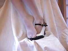 meia-calça pé fetich