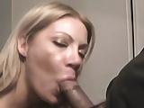 Cute blonde films herself sucking her boyfriend