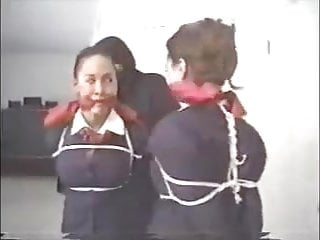 video: Stewardesses In Bondage