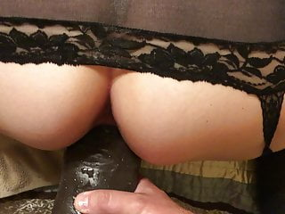Big Ass Milf Dildo video: Rough Monster Cock