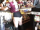 Sexy shorts candid