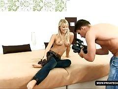 Filmando um casting adolescente com Rose