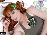 Irish hottie Penny Pax gets a St. Patricks day pounding