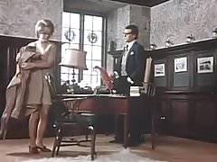 Vintage švédská sekretářka
