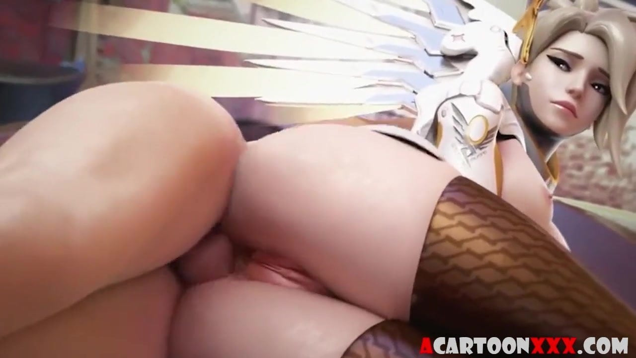 Overwatch babes taking big penis in their butt