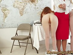 Mormon Milf Finger Teenager
