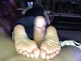 Sexy Footjob from Sisters Friend