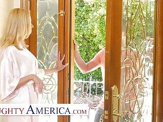 Blonde Big Tits Milf video: Naughty America - Briana Banks Fucks her Son's Best Friend