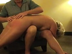 Hot Mature Blonde Punished- sucks and spanked