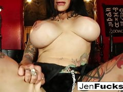 Sexy tattoeed Milf gives you a Jerk Off Instructional