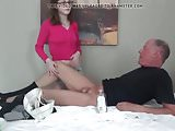 Teen Girl Jerks Off Old Guy