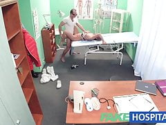 FakeHospital Hot blonde loves the doctors muscle