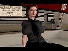Dana Scully FBI Dziwka część # 1