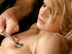 Disobedient young slut needs to train.BDSM movie.