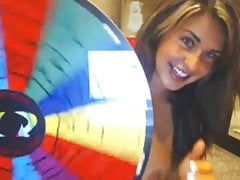 Cute First-timer Taunting And Dancing On Cam
