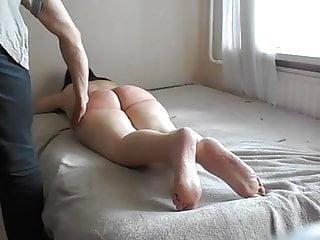 Spanking Foot Fetish video: barefeet spanked