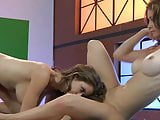 Lesbian Emily Addison and Heather Vandeven