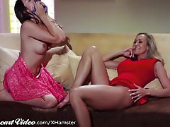 Sweetheart Brandi Love and Melissa Moore!!!