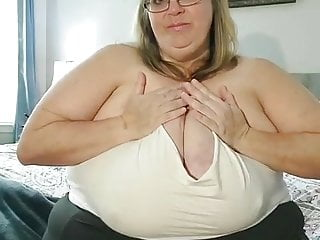 Bbw Softcore Mature video: huge boobs 6