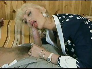 Double Penetration Blonde Blowjob video: Vintage Big Titted DB - Super Girl - Full Movie