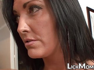 Big Tits Milf Lesbian video: Young hottie seduced and orally pleased by stepmom