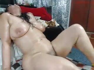 Webcam Vibrator Sex Toy video: Big puta