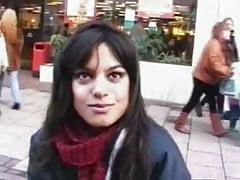 Indyjska dziewczyna z ulicy