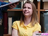 Shoplifting Sweety Catarina Gets Banged