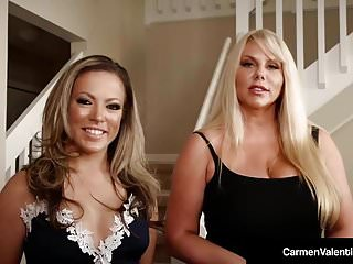 Carmen Valentina & Karen Fisher Suck A Dick To Sell A House!