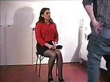 Jasmine Over The Knee Spanking