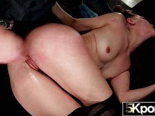 Stockings Lingerie Big Ass video: 5KPorn - Izzy Lush Covered in Cum at 60fps