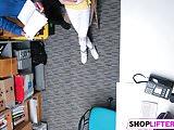 Shoplifting Teen Catarina Gets Banged