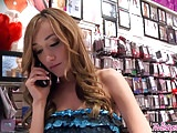 Twistys - Justin MagnumVictoria Rae Black starring at Servic