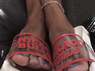 Footjob Hd Videos video: Ebony feet stank