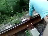 Fucking On The Railroad For A Change
