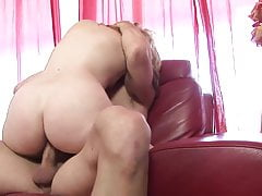 Curvy blonde gets her cunt finger fucked before banging