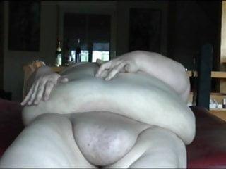 Bbw Massage Big Ass video: Chubby Babe Massages Big Belly
