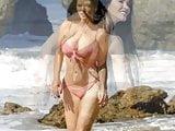Claudia Alende - Bikini at a Beach in Los Angeles