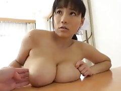 Busta japonská sluha dívka část 2