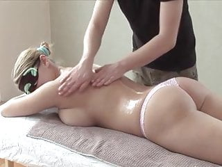 Bbw Massage video: Seducing blindfolded girl & performing an incredible massage