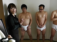 Japanese Cock Teaser, Yui Ayana Is Gently Sniffing Dick, Unc