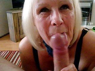 British Lingerie Blonde video: Granny Jan