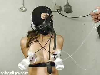 Small Tits Bondage Slave video: Juliette Gets Milked +++ BDSM +++ Jocoboclips.com