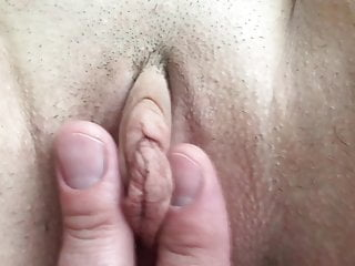 Hardcore Wife Pussy video: Homemade MILF Finger Cock Pussy Creampie Big Clit Labia Pink