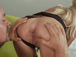 Anal Blondes video: Dude Eats Natali D Angelo Asshole Like Its The Tastiest Food
